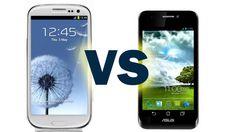 Asus Padfone vs Samsung Galaxy S3 - Comparison