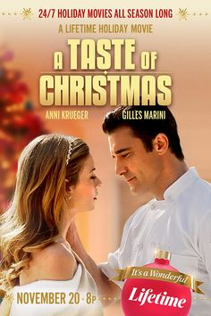 Christmas Movies, Holiday Movies, Disney Christmas, Love Movie, Movie Stars, Movie Tv, Nia Vardalos, Gilles Marini, Xmas