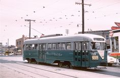 DC Transit PCC at 4th and Butternut Streets NW (Route 72) (Joe Testagrose Collection).