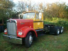 Ox 71' Kenworth W/ winch
