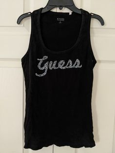 Tank Top Shirt, Tank Tops, Guess Shirt, San Diego, Women's Fashion, How To Wear, Shirts, Outfits, Tall Clothing
