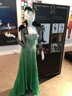 Evanora Costume detail. Oz