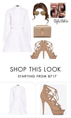 """""""Untitled #1065"""" by bentleycartier ❤ liked on Polyvore featuring Alexander Wang and Yves Saint Laurent"""