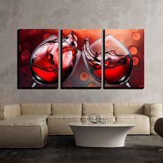 Wine Wall Art, Metal Wall Art, Wine And Canvas, Wine Painting, Wall Art Pictures, Canvas Pictures, Wall Prints, Canvas Wall Art, Canvas Paintings