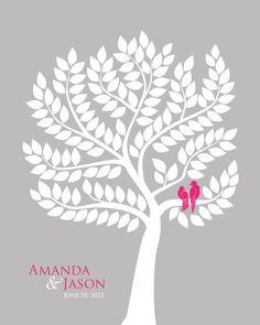 Wedding Tree Guest Book Alternative <3