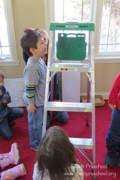 Drawing lines and ladders for math by Teach Preschool