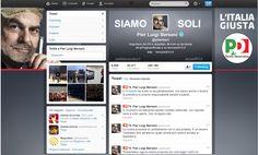 In anteprima esclusiva il nuovo profilo Twitter di @pbersani. #bersani #vasco