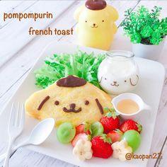 おはようございます(*ˊૢᵕˋૢ*) . #ポムポムプリン ちゃんの#フレンチトースト を作ってみました🍮 型で抜いて卵液につけて焼くだけw 帽子やお鼻のチョコレートと合って美味しかったです♡ #ポムポムプリンカフェ で購入したプリンの容器にはヨーグルトを入れました♡ . 今日は大好きなお友達だちと、ちょっぴり遠出ランチに行ってきます🚗💨 . 皆様も楽しい一日をお過ごしください(๑ˇεˇ๑)•*¨*•.¸¸♪ . お掃除インテリアアカウント ↓ @kaopan207 こちらもよろしくお願いします♡ . . . #手作り#キャラフード#おうちごはん#クッキングラム#デリスタグラマー#ママリ#サンリオ#lin_stagrammer #instafood #cutefood #characterfood #kyarafood #kawaiifood #foodart #funfood #fooddeco #delimia #decofood #pompompurin #sanrio #French toast#breakfast #朝ごはん#朝食