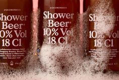 Shower Beer on Behance