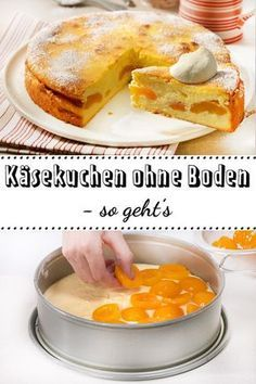 Für diesen köstlichen #Käsekuchen musst du nur einen Teig zubereiten! #einfach #backen