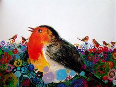 (Birds by Brian Wildesmith, 1967) I hate birds, but PRETTY COLORS