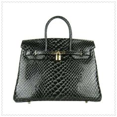 Hermes Birkin..black is beautiful.