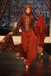 Muslim woman fashion