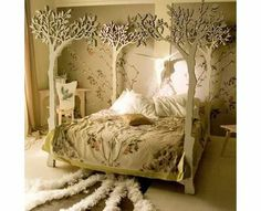 Is it a Bedroom...or an enchanted forest?
