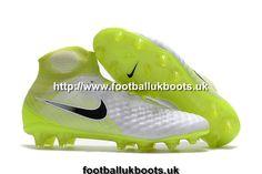 040624e9967e Buy Retro Nike Magista Obra II Motion Blur FG Football Boots - White Black