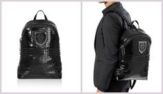 This is the perfect backpack for everyday use without cutting down on elegance and style. The razor shaped zipper pendant and the PP logo on the front are eye catching details. 100% Calf Leather.   http://www.boudifashion.com/new-in-designer-fashion/departments/mens-designer-clothes/philipp-plein-unbreakable-backpack.html  #PhilippPlein #BoudiFashion #Leather #Designer #Shopping  #Celebs #PhilippPleinCollection #LoveStyle #LeatherBags #HappyFriday #FriskyFriday #Fridays #CelebrityStyle…