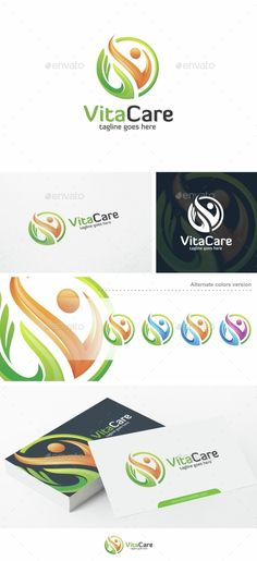 VitaCare - Logo Template - Humans Logo Templates