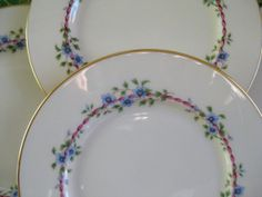 Lenox Belvidere Salad Plates Excellent Vintage by ChinaGalore, $60.00