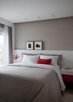 Decoração e Ideias - casa e jardim: Tons neutros definem apartamento contemporâneo