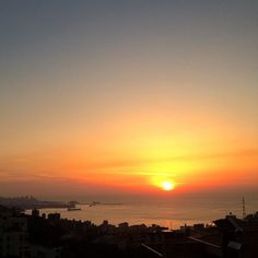 It's been a glorious day #beirut #sunset #spring #sun #lebanon  (at les Grasberger's)