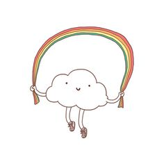 Tattly Tattoos are safe and non-toxic temporary tattoos. They are printed with soy based ink and each tattoo has been designed by talented professional artists. This little rainbow by Lim Heng Swee is