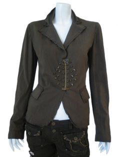 Norio Nakanishi's Jacket with patches @  $303.00 from dressspace.com