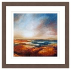 Copper 4 Framed at Whistlefish - handpicked contemporary