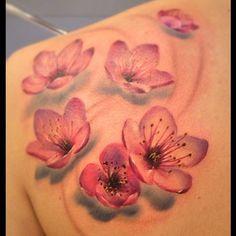 flores cerezo tatuaje - Buscar con Google