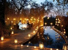 Romantic Evening in South Africa