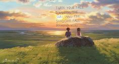 Least favorite Studio Ghibli movie and why? Tales from Earthsea because I just couldn't quite get into this movie and I believe it lacks some of the Ghibli magic however, I enjoyed the scenery and music. Studio Ghibli Quotes, Studio Ghibli Films, Hayao Miyazaki, Totoro, Nausicaa, Tales From Earthsea, Le Vent Se Leve, Wind Rises, Fanart