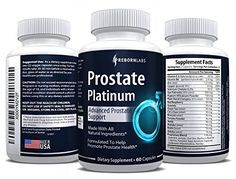 Prostate Support Supplement that Reduces Frequent Urination | Finally Sleep Longer Without Interruptions | Natural Complex with Saw Palmetto (DHT Blocker), Beta Sitosterol