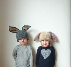 Easter Rabbit hat by SoSatsuma on Etsy