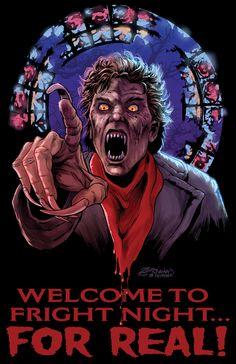 WELCOME TO FRIGHT NIGHT by Zornow.deviantart.com on @DeviantArt