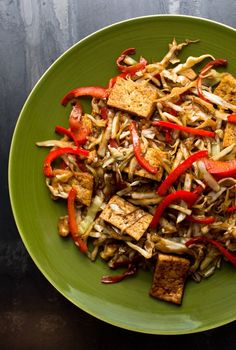 Start cooking the rice or quinoa that you will serve this with, prep your vegetables and make the stir-fry. The prep is the most time-consuming but there aren't too many ingredients. You can be sitting down about 35 minutes after you begin.