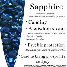 Sapphire crystal meaning