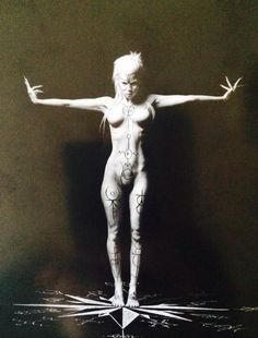 Black and White yolandi visser die antwoord Yolandi Visser, Die Antwoord, Dark Art, How To Look Pretty, Art Photography, Monochrome Photography, Photos, Silhouette, Black And White