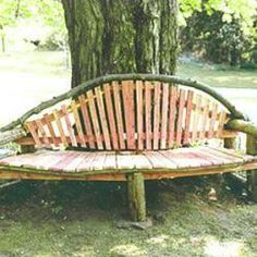 34 Best Tree Benches Images Tree Bench Garden Tree Seat