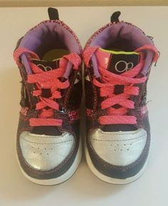 OP Girls Fashion Sneakers Athletic Hightop Shoes Toddler Size 11   eBay