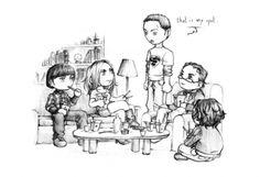 The Big Bang Theory - chibis by nami86