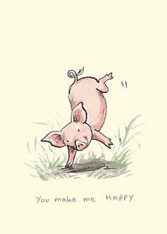 Tú me haces feliz