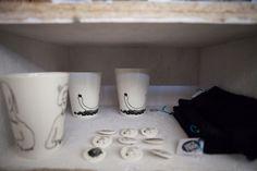 #ceramics in Shop of Form at Remade Market 27 October 2013. Lodz Design Festival 2013