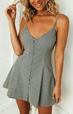 Swans Style is the top online fashion store for women. Shop sexy club dresses, jeans, shoes, bodysuits, skirts and more. Cute Dresses, Casual Dresses, Casual Outfits, Fashion Dresses, Cute Outfits, Summer Dresses, Hijab Fashion, Fashion Tips, Spring Outfits
