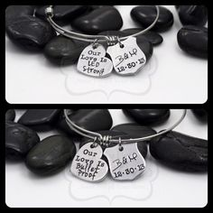 Hand Stamped Personalized Police / LEO Our Love by MyHeroCreations