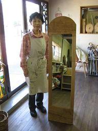 2009年11月4日 みんなの作品【額・鏡・壁飾り】|大阪の木工教室arbre(アルブル)