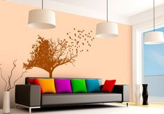 Birdtree - Wall sticker Wall Stickers, Home Decor, Wall Clings, Decoration Home, Wall Decals, Room Decor, Home Interior Design, Home Decoration, Interior Design