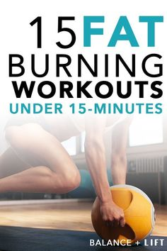 If you don& have time for an hour long workout don& worry. These 15 killer fat burning workouts have you covered. If you dont have time for an hour long workout dont worry. These 15 killer fat burning workouts have you covered. Lose Weight In A Week, Help Losing Weight, Reduce Weight, How To Lose Weight Fast, Lose Fat, Quick Weight Loss Diet, Weight Loss Help, Weight Loss Program, Healthy Weight