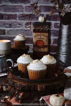 Recette cupcakes au potimarron (pumpkin) | Le Blog cuisine de Samar