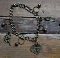Whimsical FAERIE BLESSING BELL Bracelet by WickedFaerieQueen, $8.00