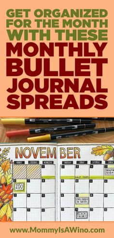 Get Organized For The Month With These Monthly Bullet Journal Spreads - Bullet Journal Ideas For Monthly Spreads