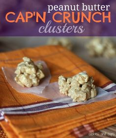 Peanut Butter Cap'n Crunch Clusters